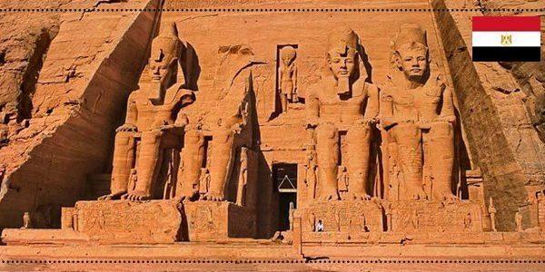 واجهة معبد ابو سمبل