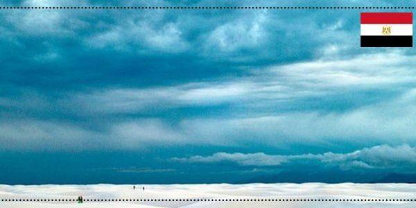 أماكن سياحية - سماء الصحراء البيضاء