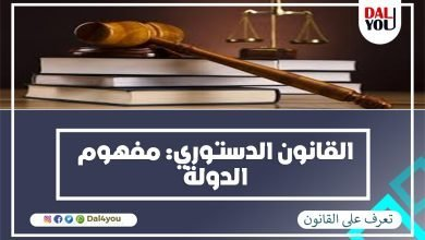Photo of القانون الدستوري : مفهوم الدولة