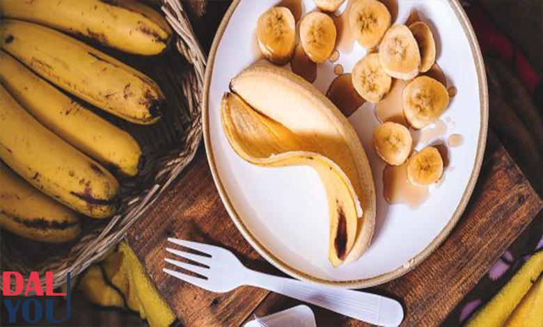 فوائد الموز للمعدة والقولون