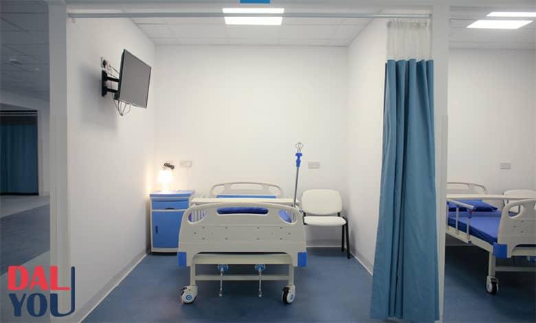 زيارة المريض في المستشفى